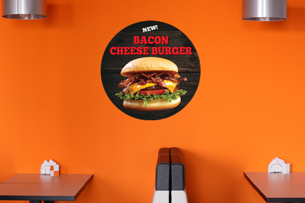 Promotional Wall Decal Image