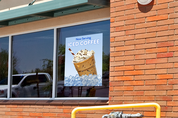 Promotional Window Decal Image